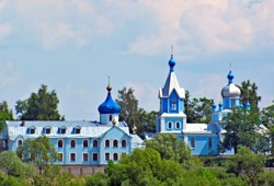 Protection of the Mother of God Monastery (Khotyn Village, Rivne Rgn.)