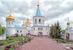 Molchansky Caves Nativity of the Most Holy Mother of God Convent (Putyvl Town, Sumy Rgn.)